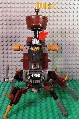 The Lego Movie 2 70836 Battle Ready Batman METALBEARD CRAB MECH minifigure build
