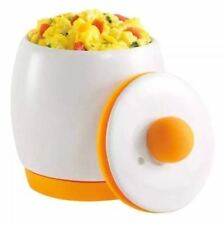Egg-Xite Microwave Egg Cooker and Poacher for Fast and Fluffy Eggs