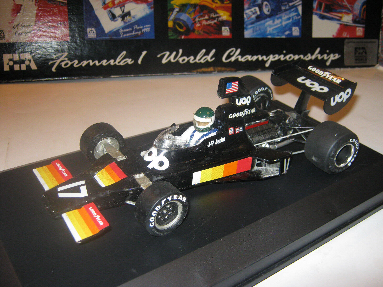 1 20 Shadow FORD dn5 J.P. Jarier Monaco GP 1975 resin Ready built in Showcase