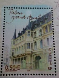 FRANCE-2003-timbre-3626-CAPITALES-EUROPEENNES-LUXEMBOURG-PALAIS-DUCAL-neuf-MNH