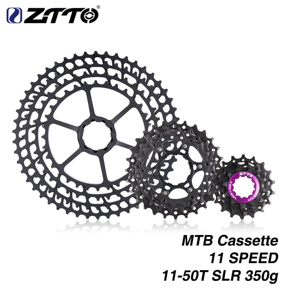 ZTTO MTB 11 Speed Cassette 11-50T Wide Ratio  CNC Freewheel Mountain Bike A0F3  2018 store
