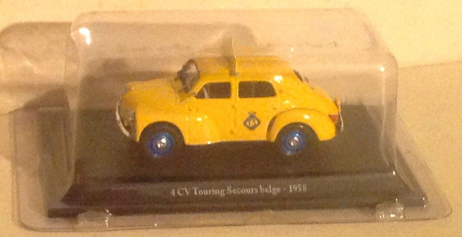 Renault 4 CV Touring secours belge 1958 1 43ème 43ème 43ème df8869