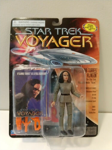 "Star Trek Voyager B/'Elanna Torres The Klingon Playmates #16465 /""Faces/"" Episode"