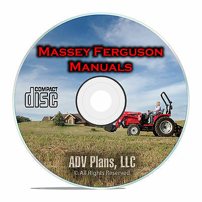 Massey Ferguson Tractor Shop Manuals, MF35, MF135, TE-20, TO-20, TO-30, CD  F53 741533273867 | eBay