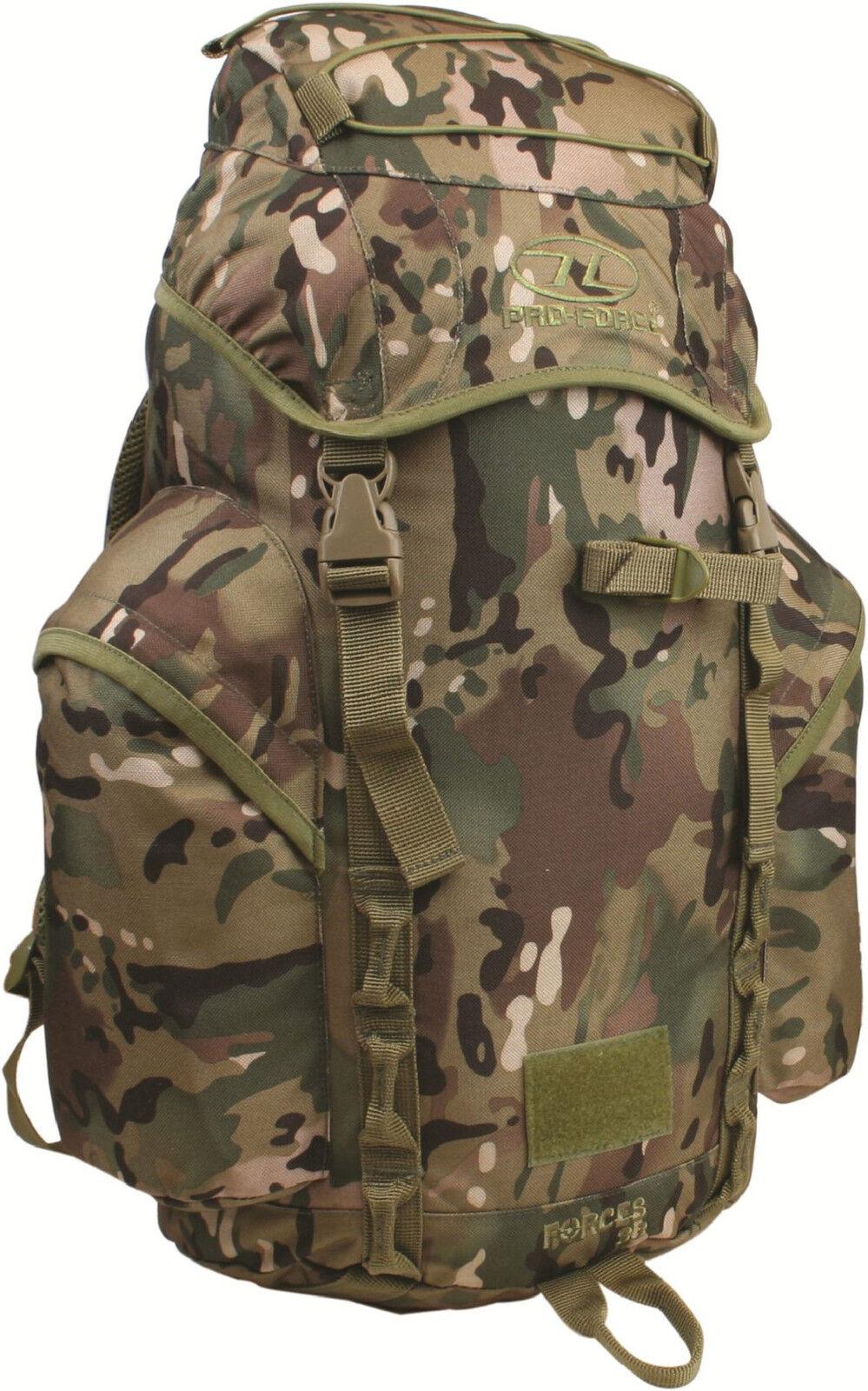 Forces 33 Litre Multicam   HMTC   MTP Rucksack Patrol Pack Bergen ( MTP MOLLE