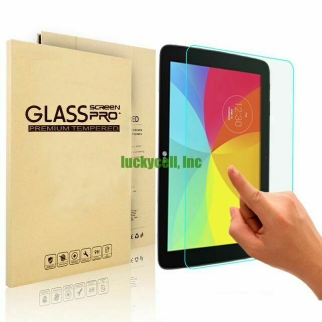LG G Pad 10.1 V700 Tempered Glass Screen Protection Shatter Proof HD Clear