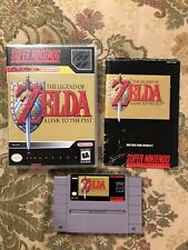The Legend of Zelda A Link to the Past w/Manual Super