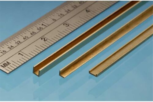Brass Angle 5 x 5 mm 1p. ALBION ALLOYS A5 Laiton