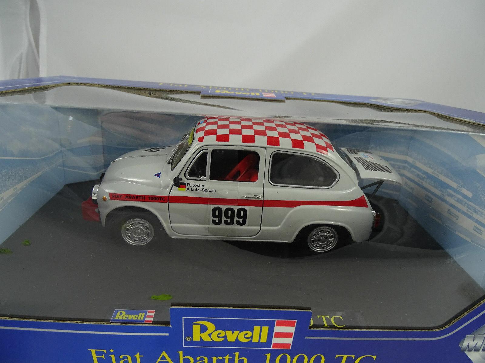 1 18 18 18 REVELL  08836 FIAT ABARTH 1000 TC R. anormali A. Lutz-rampollo  999 e8be60
