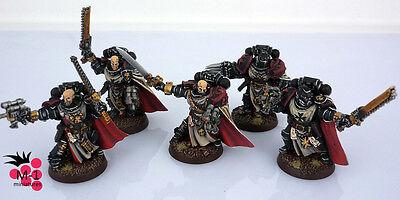 Warhammer 40k Black Templars Sword Brethren M-1 pro-painted