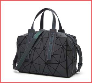 Fashion-zipper-bags-women-luminous-tote-Bag-women-Geometric-shoulder-bags