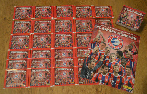 PANINI il Bayern Monaco 14 15 Sticker 5//10//25//50 cartocci Album Display 2014//2015