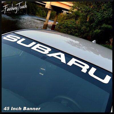 SUBARU Windshield Vinyl Decal sticker Window decal graphic impreza STI WRX JDM
