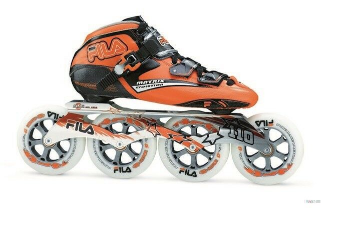 Fila Fila Fila Matrix Evolution Speed Marathon Inline Skates 110 mm Rollen Gr. 45,5 TOP  | Großhandel