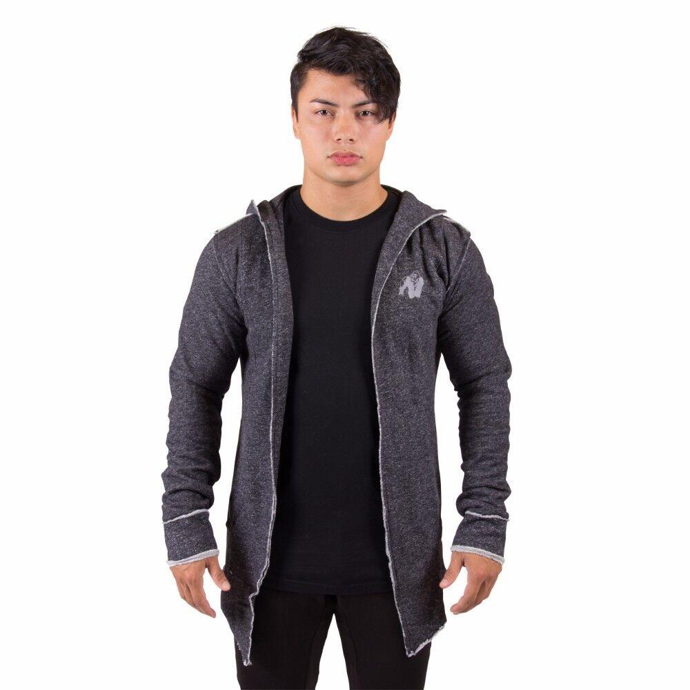 Gorilla Wear Bolder Sweat Jacket schwarz Bodybuilding Fitness