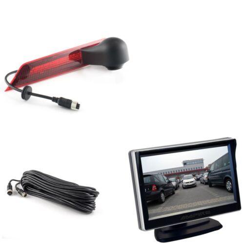 Ampire Rear View Camera Monitor Set Ford Transit Custom//Halogen Rear Light