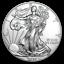 ETATS-UNIS-1-Dollar-Argent-1-Once-Silver-Eagle-2020 miniature 1