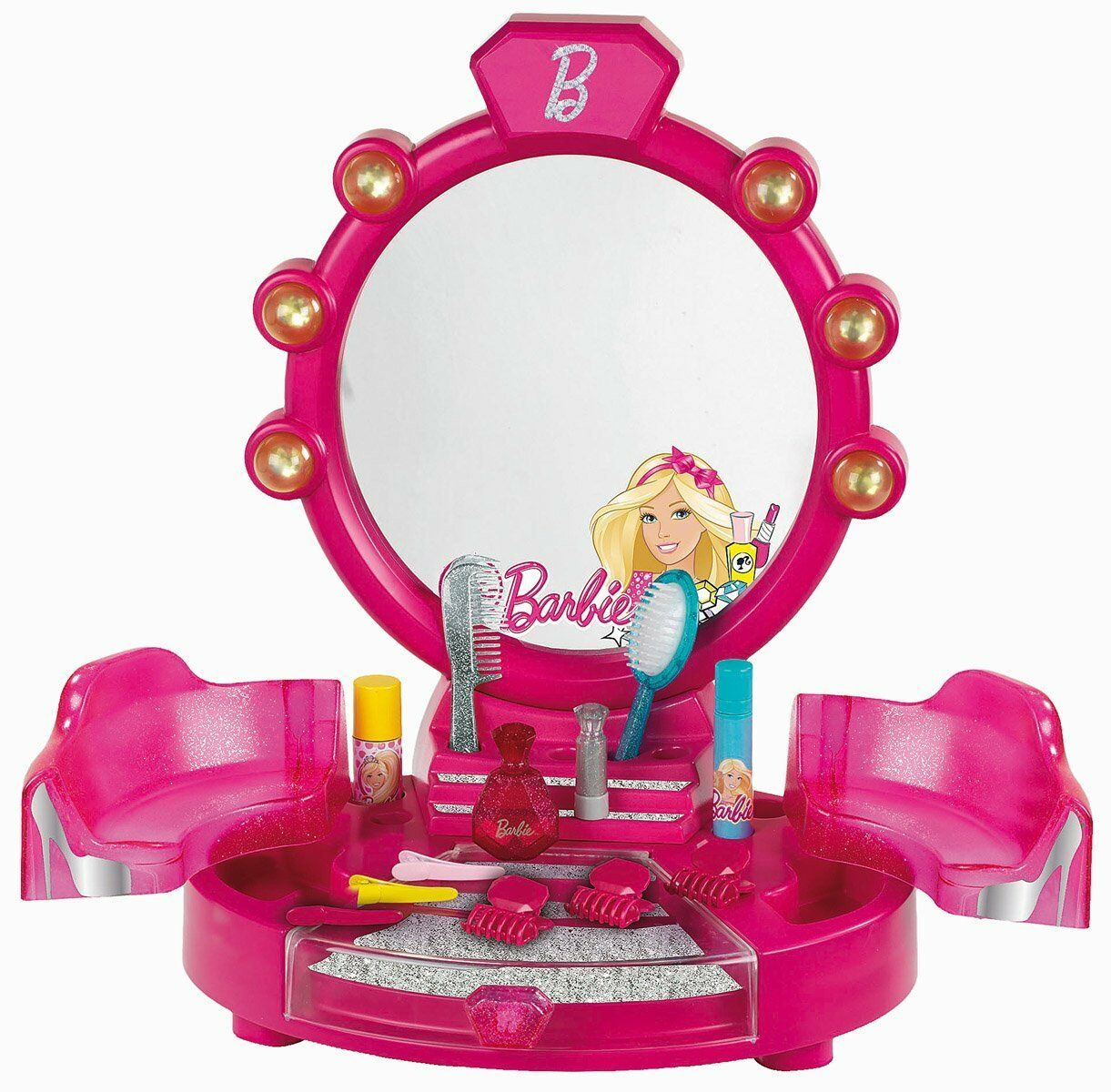 BARBIE Beauty Table Studio with Accessories - New RRP
