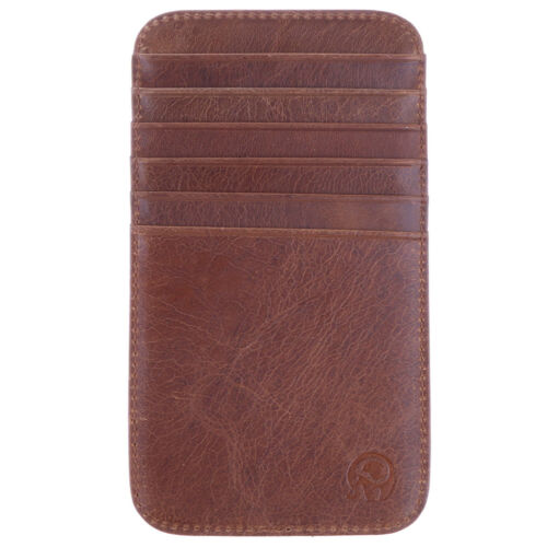 Vintage Brieftasche Dünne Tasche Kartenetui Kreditkarteninhaber 12 Slots