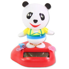 Dancing Panda in a Meadow Solar Toy Home Decor Birthday Gift US Seller