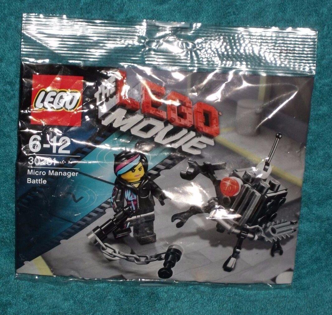 Lego Movie Micro Manager Battle Polybag Set 30281 New Ebay