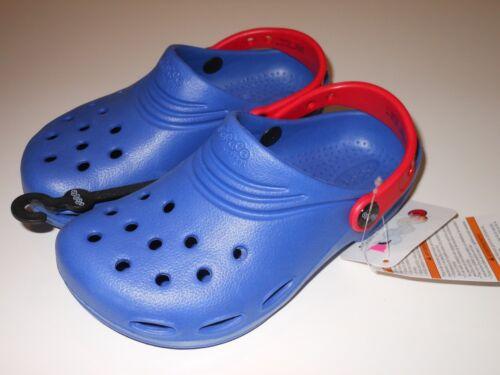 CROCS New Red /& Blue Jibbitz Crocs size 1//2