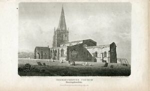 Godmanchester-Church-IN-Huntingdonshire-Engraved-IN-1804-By-R-roffe-Drew-R-j