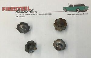 """1955 1956 1957 Chevy Chevrolet """"USED"""" TRUNK LID HINGE BOLTS   C"""