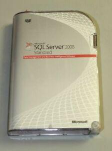 Microsoft SQL Server 2008 Standard- Englisch - 1 Prozessor - SKU: 228-08404