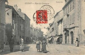CLUNY-place-du-Commerce