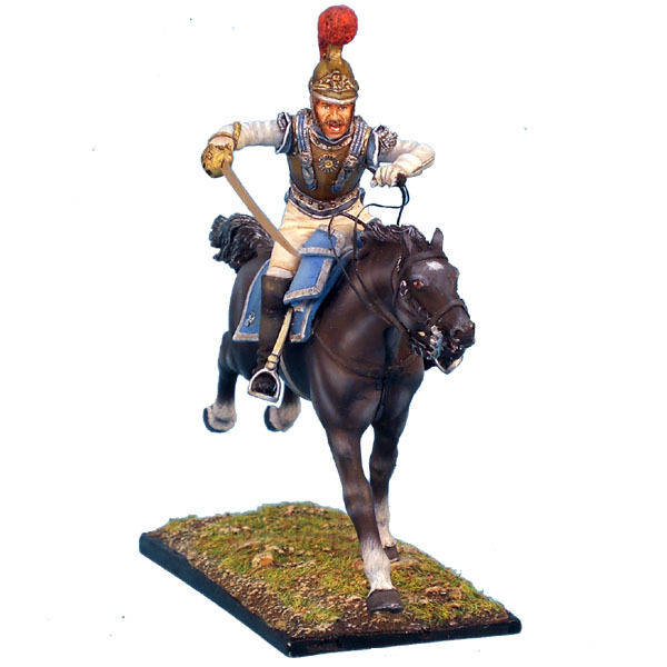 First Legion  NAP0074 French 2nd Carabiniers Officer Charging
