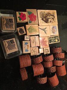 Rubber Stamp collection Stampede Inkadinkado Stampin' Up