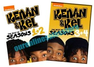 Details about Kenan & Kel Complete Seasons 1-4 DVD Collection TV Show  Series Sets Nickelodeon