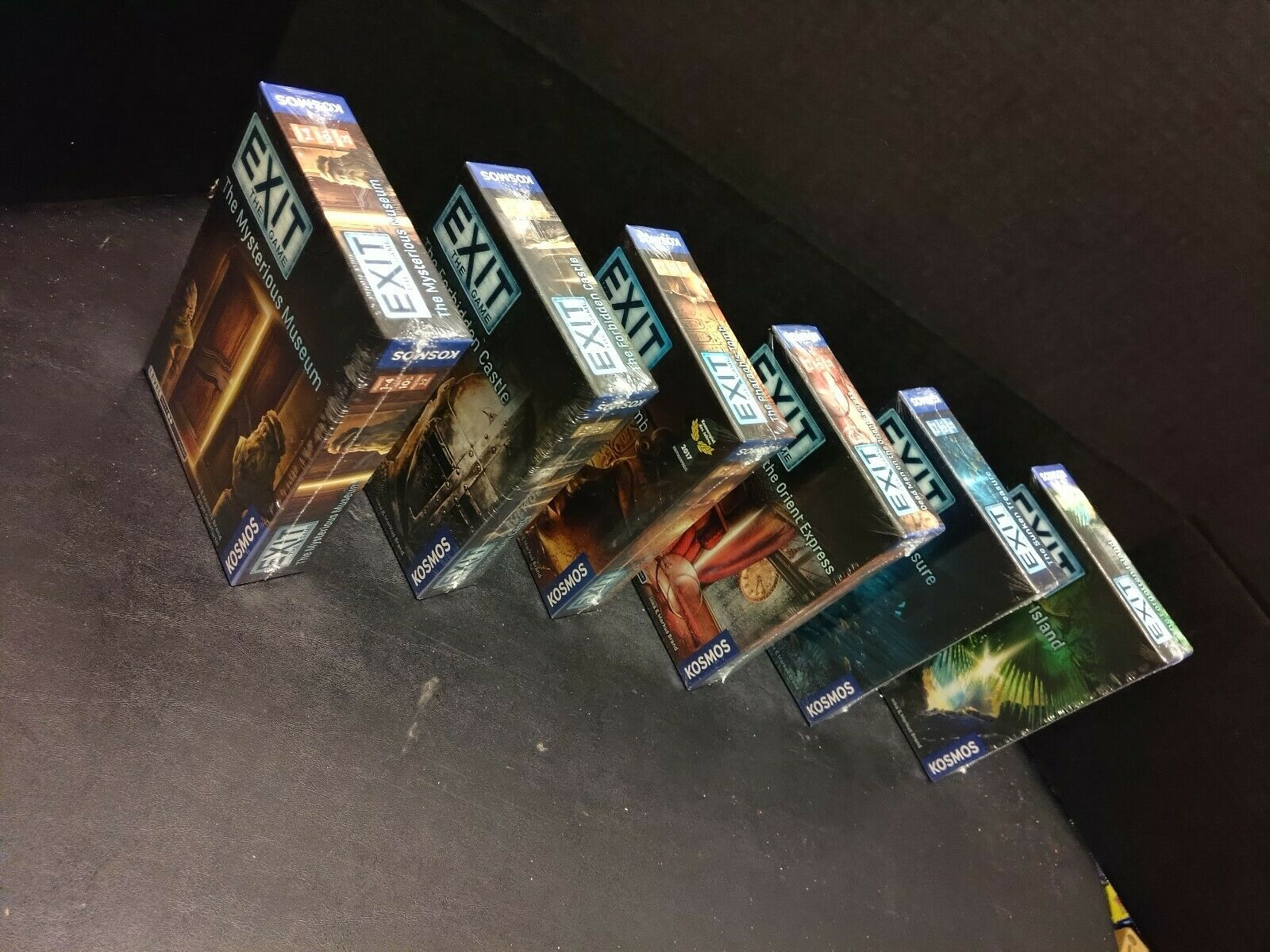 Exit The Game Forgotten Island, Orient Express, Sunken Treasure +3 MORE NEW LOT