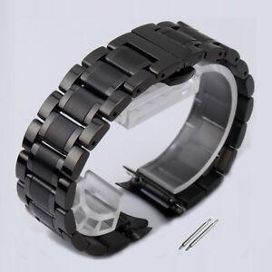 Ersatzuhrenarmband schwarz