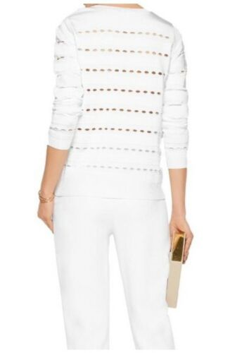 Leger990 Nieuwe Stretch White SweaterMedium Herve L3q4jR5A