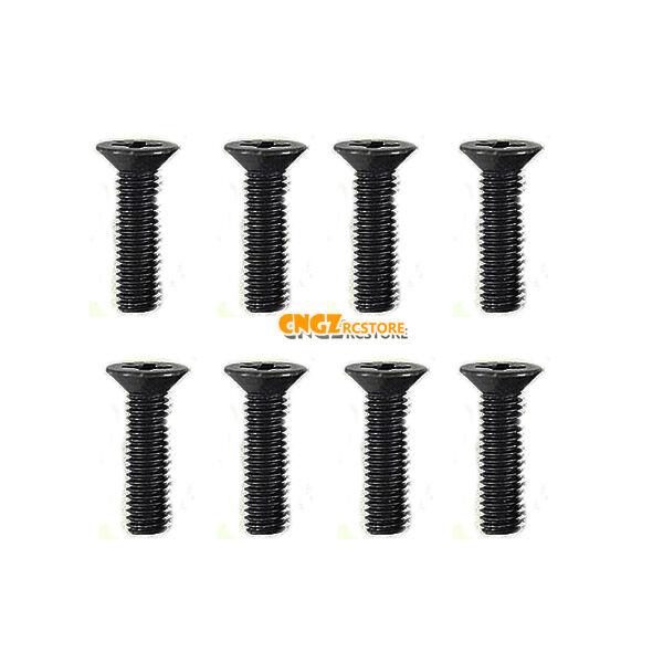 NEW Racing Flat Head Screw M3x12mm FOR HSP HPI HIMOTO RC CAR SPARE PART