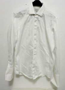 34 Rn 95229 Shirt Baker About 17 Details 35 Ted Sleeve White Size Mens Front Long Button