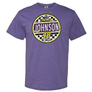 Jimmie-Johnson-Heather-Purple-Retro-Lifestyle-T-Shirt