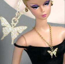 "Handmade doll jewelry necklace earrings fits 11.5/"" dolls #126"