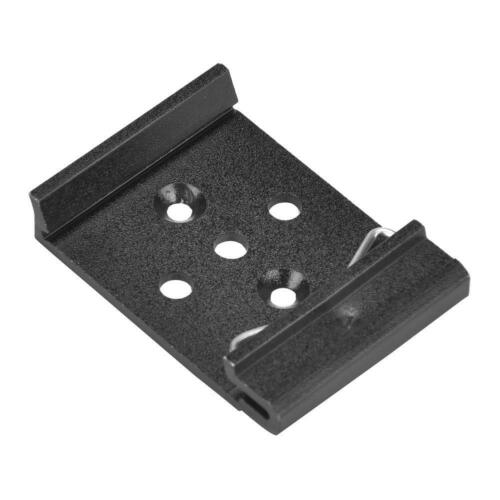 Brand New 35mm Aluminum Din Rail Fixed Clamp Fasten Clip for Relay Mounting #5