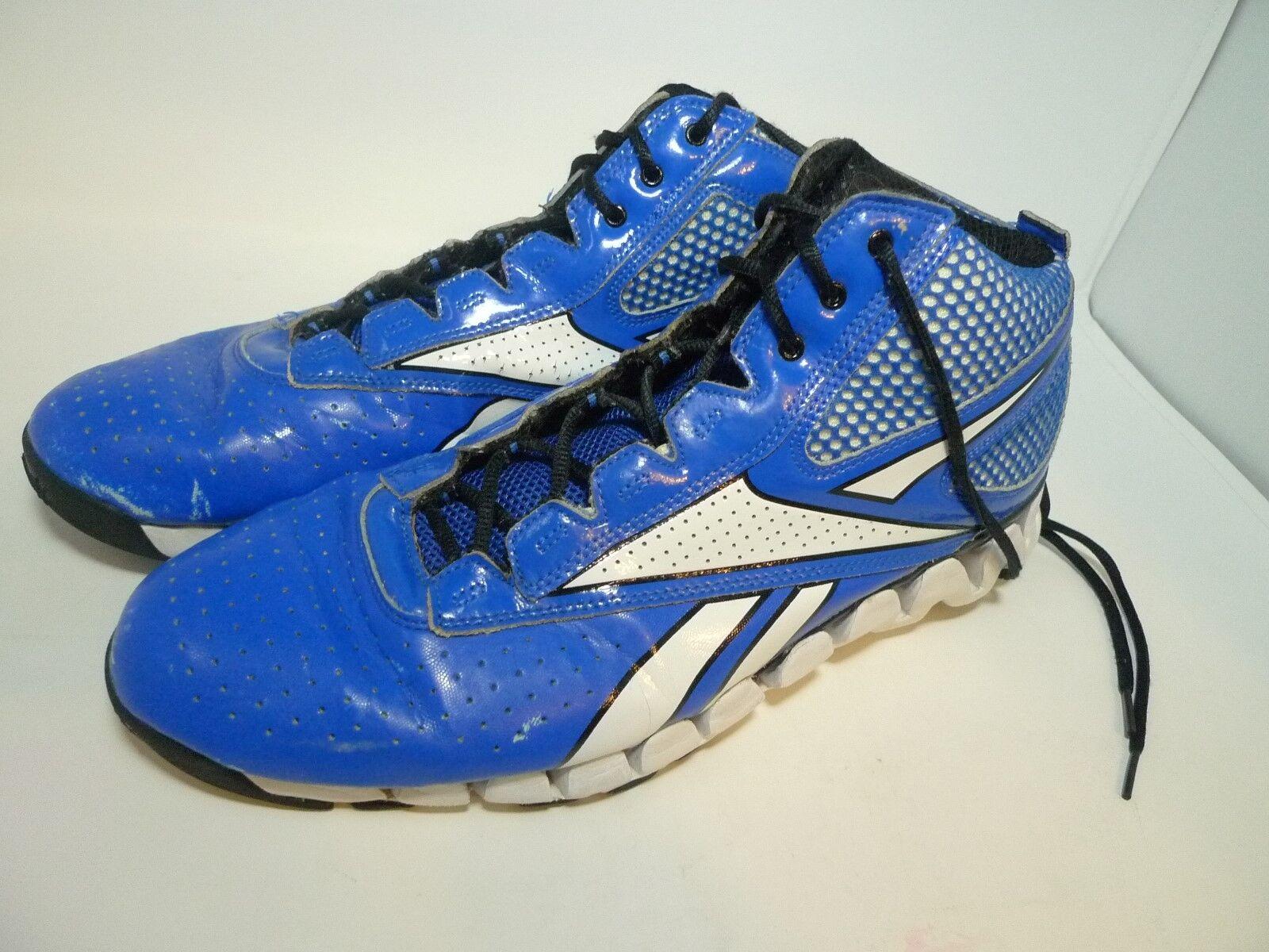 32ba2af586a9f Reebok ZigTech Size 13 Blue White Running Running Running Shoes Mens 0a229b
