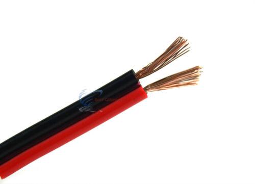 12 Gauge 500 Feet Audiopipe Red Black Copper Clad Speaker Wire Zip Cable 12 Volt