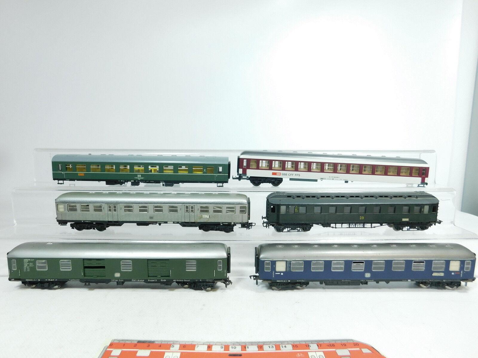 Bb205-2x h0 Hobbyists Passenger Cars etc  SBB CFF FFS + Dr + DB (Fleischmann etc)