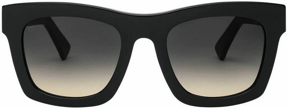 Electric California Womens Crasher Sunglasses - Gloss Black/Black Gradient
