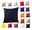 Indexbild 1 - Kissenbezug  Kissenbezüge Dekokissen 45x45 Kissenhülle Einfarbig Kopfkissen Neu