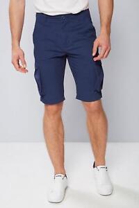 Gorilla' 100 Cotton Pantaloncini Navy Mens 100 Blu cotone cargo Navy uomo Blue W32 Shorts 'twisted W32 Cargo da qaqvZR