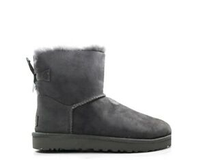 Zapatos-UGG-Mujer-GRIGIO-1016501MINIBAIBOW-GR