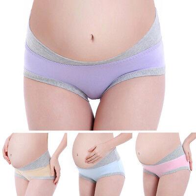 Maternity Panties U Type Pregnant Women Briefs Pregnancy Low Waist Underwear Ebay