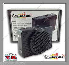 VoiceBooster Loud Portable Voice Amplifier 20 watt (Aker) MR2300 Black